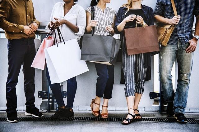 шоппинг покупки онлайн