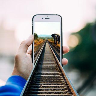 смартфон фото история