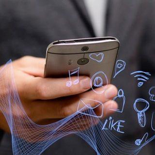 смартфон телефон уведомления сообщения смс