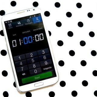 смартфон секундомер