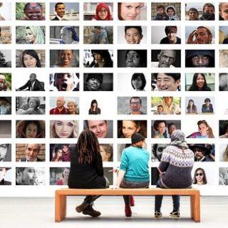 соцсеть друзья фото стена