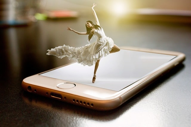 смартфон айфон экран запись