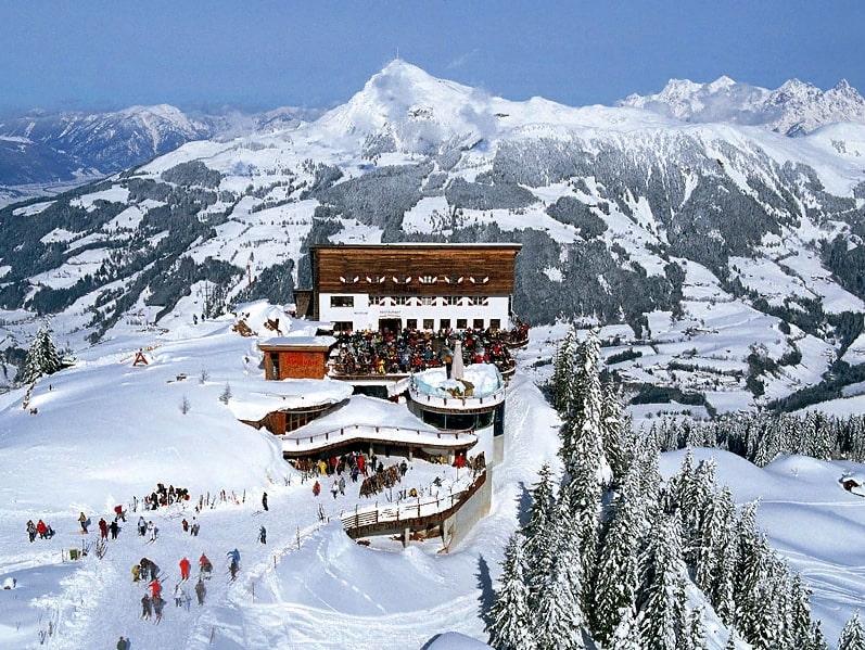Китцбюэль Австрия горнолыжный курорт