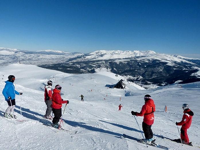 курорт Alp 2500 в Пиренеях долина Ла Молина и Маселла