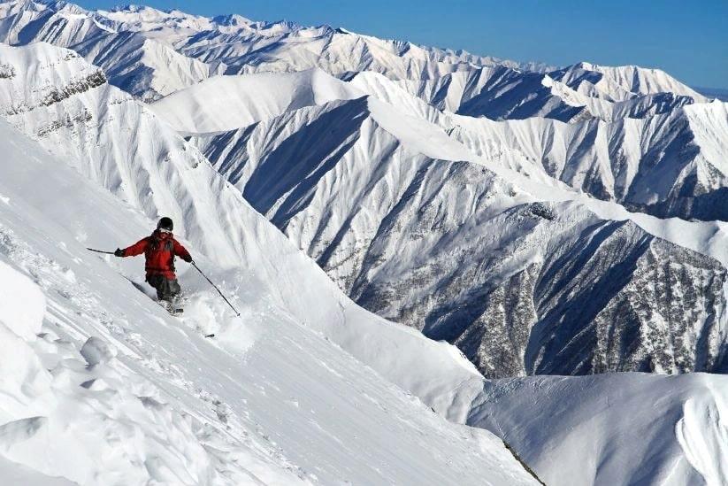 грузинский горнолыжный курорт - Гудаури