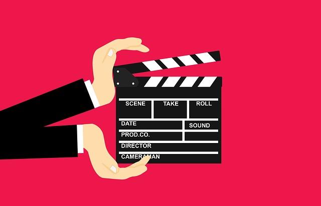 хлопушка фильм видео камера съёмка