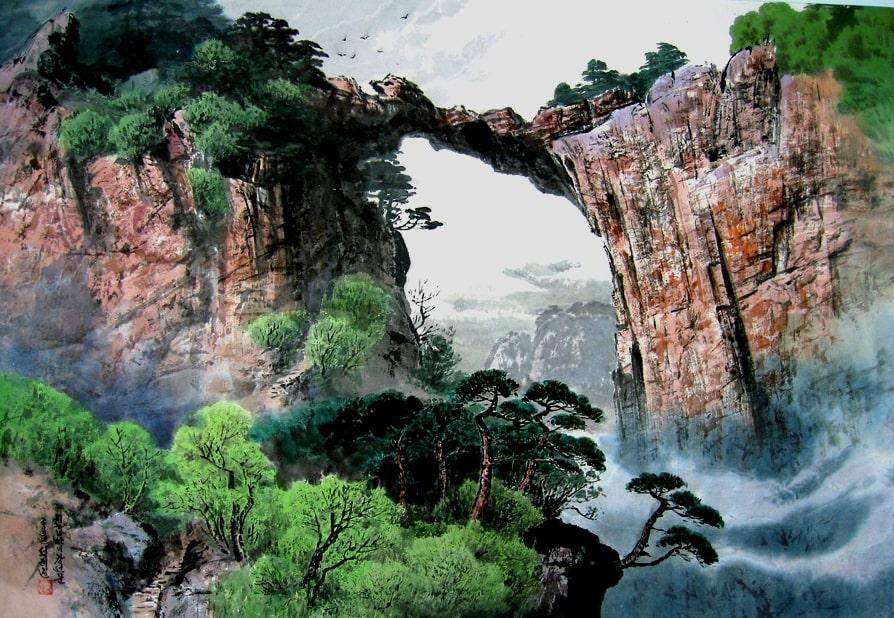 Чхильбосан горы КНДР