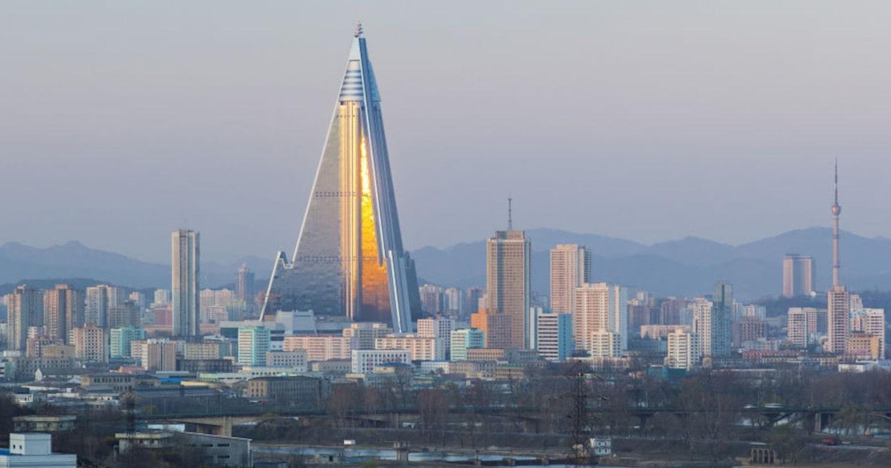 Гостиница Рюген Пхеньян Северная Корея