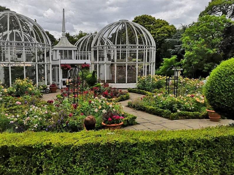 Ботанический сад бирмингем