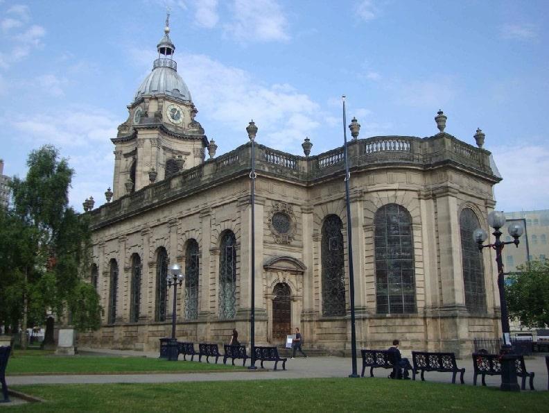 Бирмингем Кафедральный собор Святого Филиппа