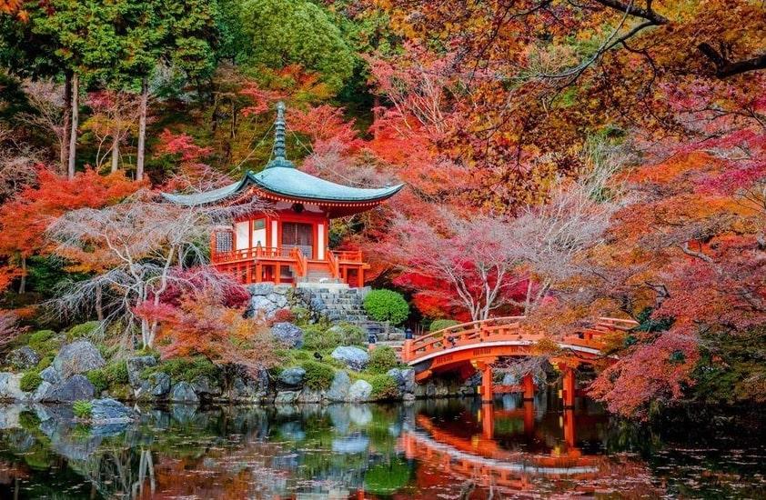 осень Япония