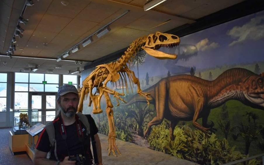 Музей динозавров Юта