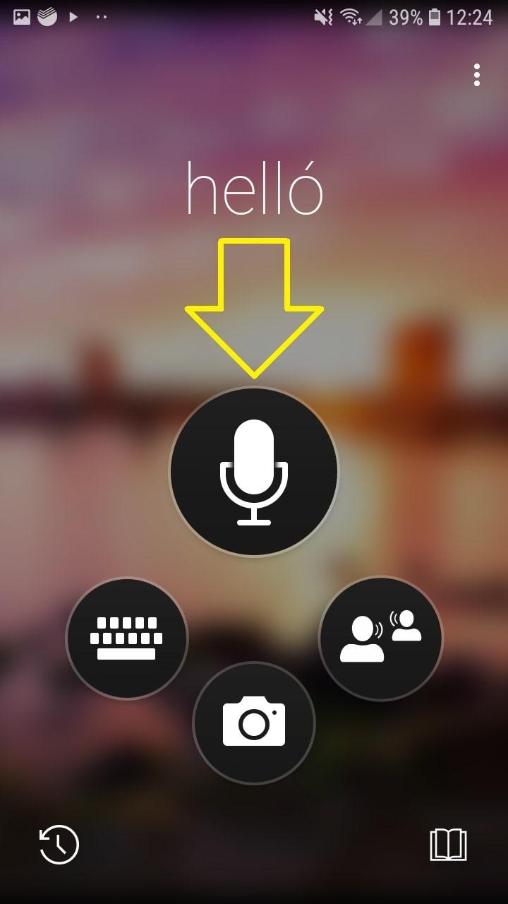 переводчик с голоса андроид