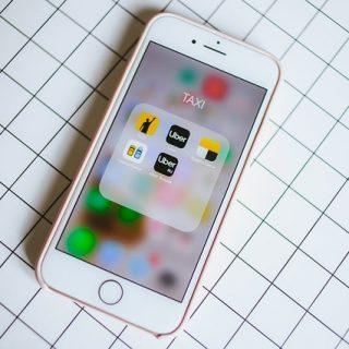 смартфон приложение такси