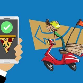 смартфон приложение доставка