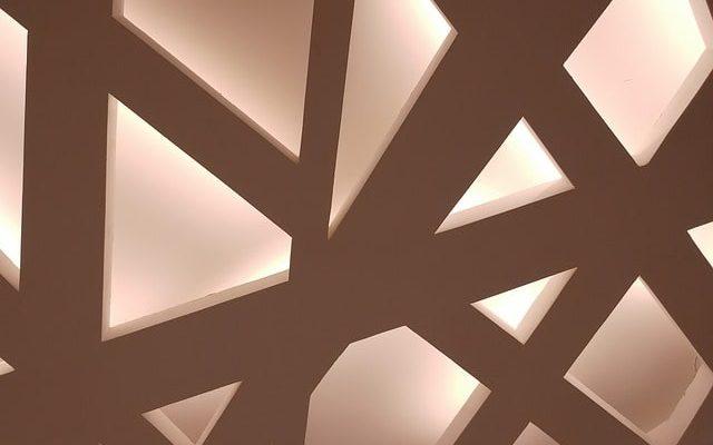 потолок освещение