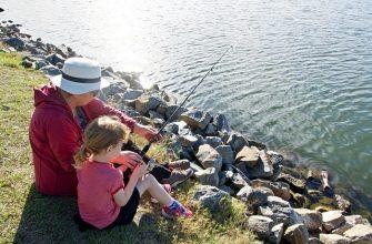 рыбалка воспитание ребёнка