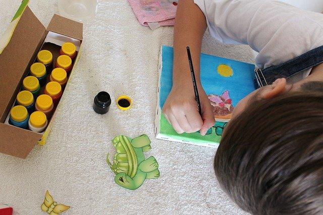 рисование ребёнок
