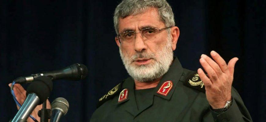 """Новый глава иранской группировки """"Кудс"""" Эсмаил Каани"""
