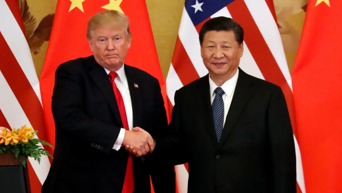 США и Китай встреча президентов