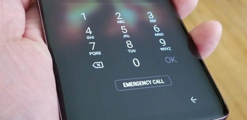 блокировка экрана смартфон